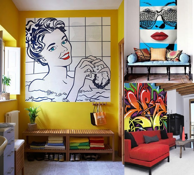 Decoração Pop Art Para Casa.