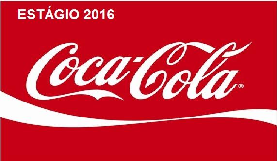 Estágio Coca-Cola 2016 – Inscrições