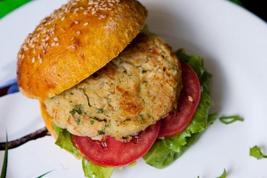 Hambúrgueres Vegetarianos - falafel
