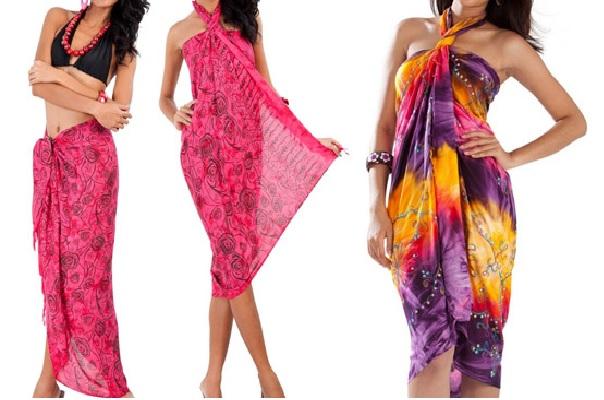 Modelos Roupas Africanas - sarong