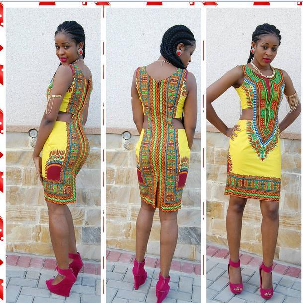 Modelos Roupas Africanas