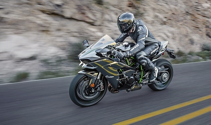 Moto Kawasaki Ninja H2 - Lançamento 2016