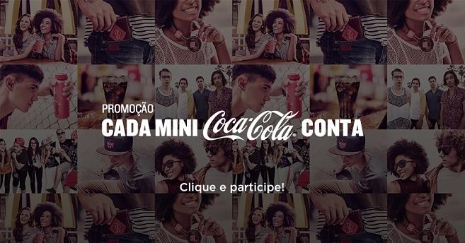 Promoção Cada Mini Coca Cola Conta - Como Participar