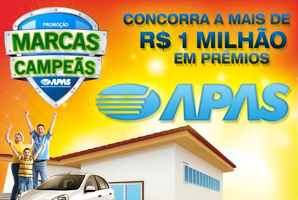 Promoção Marcas Campeãs APAS. Como Participar
