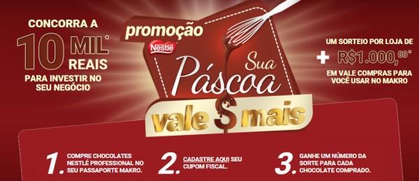 Promoção Nestlé Sua Páscoa Vale Mais Participar