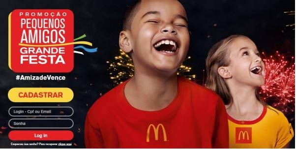 Promoção Pequenos Amigos Grande Festa McDonald