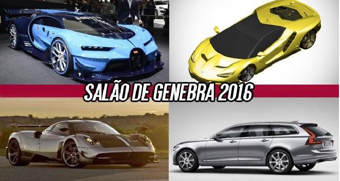 Salão de Genebra 2016 – Marcas e Lançamentos