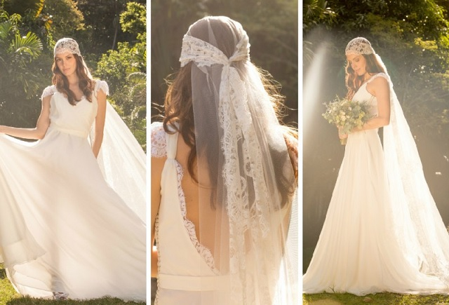 Vestidos Hippie Chic Para Casamento capa