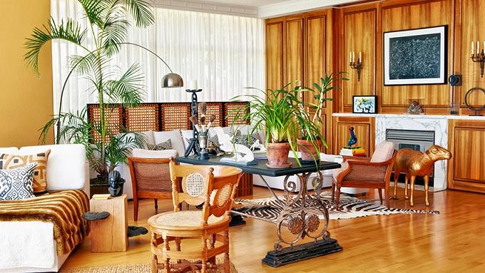 Bambu na Decoração -