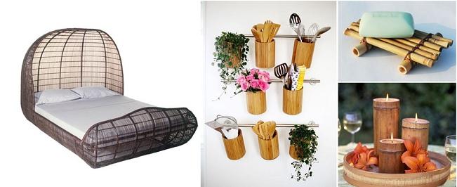 Bambu na Decoração  Modelos e Dicas