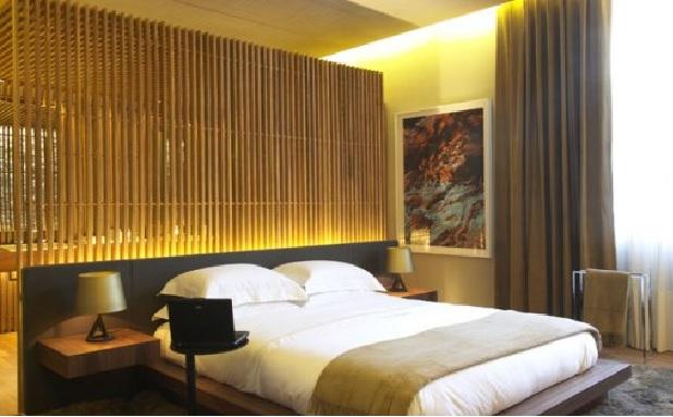 Bambu na Decoração  quarto