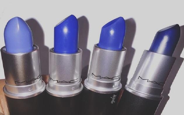 Batom Azul - Moda Como Usar