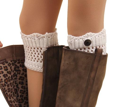 Boot Cuffs Punhos Para Bota Tendência