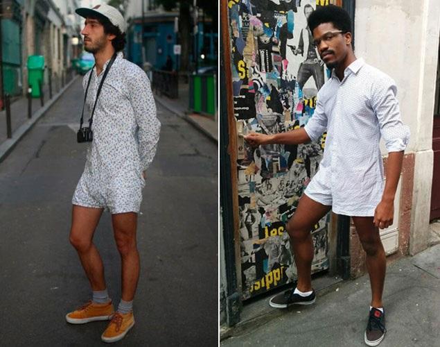 Camisa Cueca Moda na França