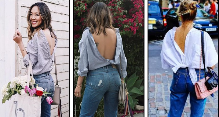 Camisa Moda ao Contrario - Dicas jeans