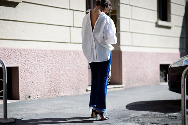 Camisa Moda ao Contrario - Dicas salto