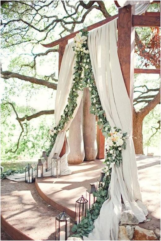 Casamento na Floresta - altar