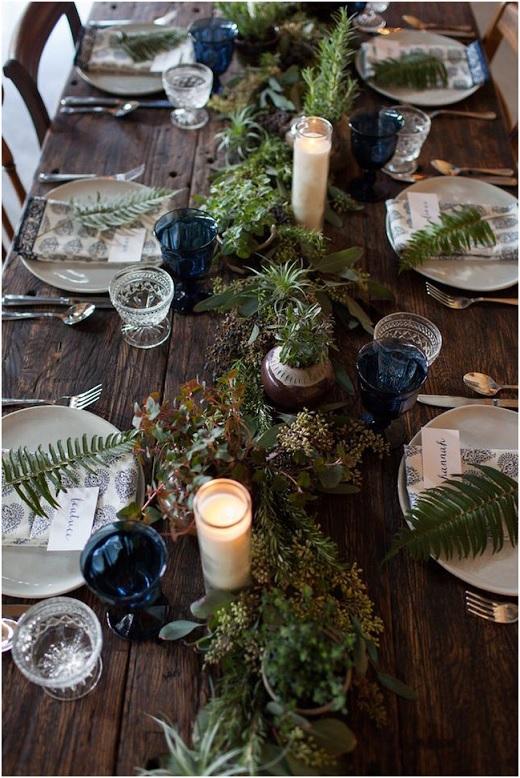 Casamento na Floresta -arranjos