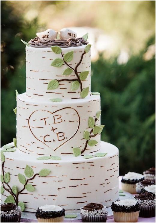 Casamento na Floresta - bolo