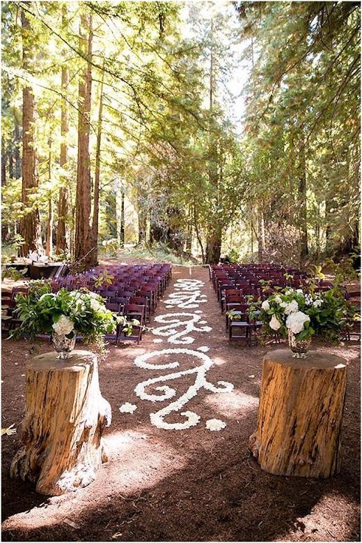 Casamento na Floresta - caminho