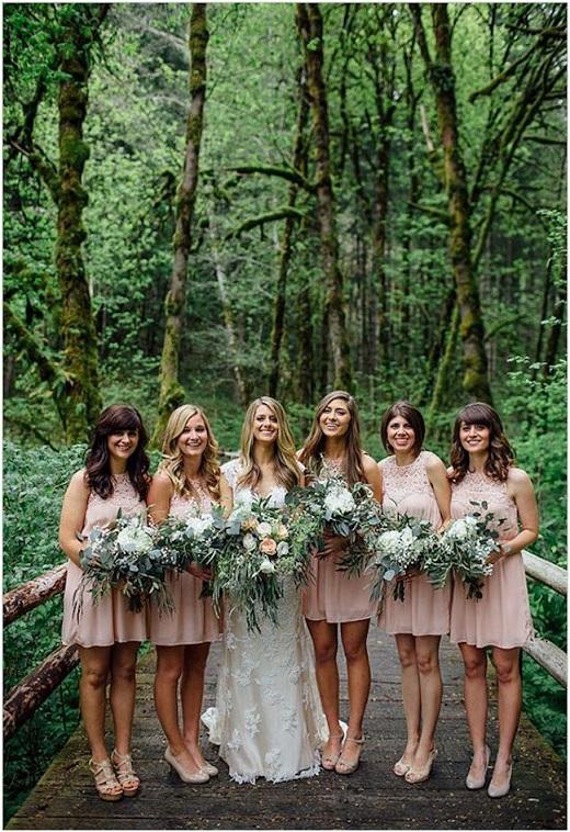 Casamento na Floresta - damas