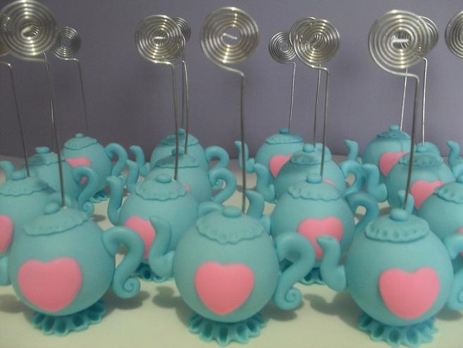 Chá de Panela Azul e Rosa  lembrancinhas