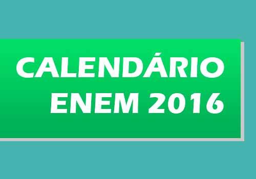 ENEM 2016.