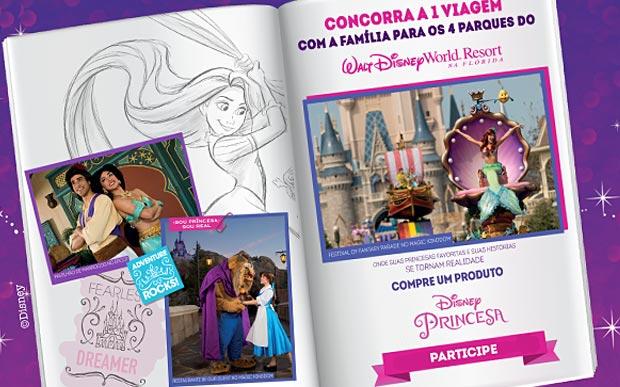 Historia de Princesa Promoção Capricho