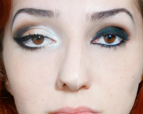 Maquiagem Com Lapis Branco -  sombra