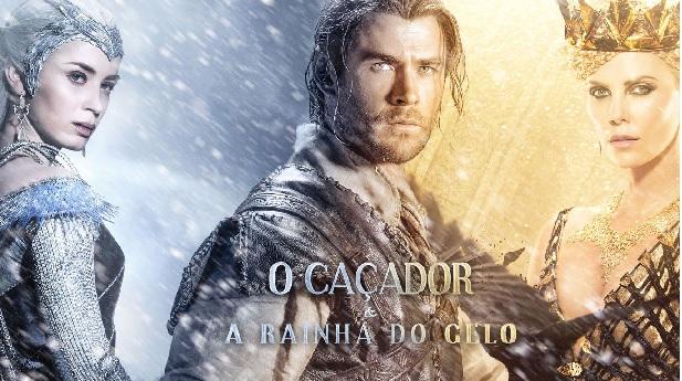 O Caçador e a Rainha do Gelo  Sinopse e Trailer