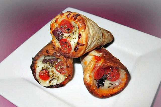 Pizza Cone Para Festas -