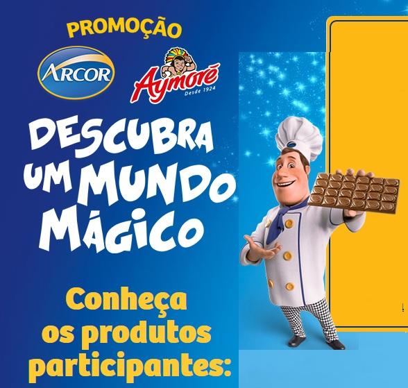 Promoção Arcor Aymoré 2016 Descubra Um Mundo Mágico – Como Participar