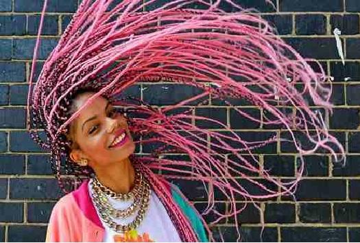 Trança Afro Coloridas .Dicas de Como Usar
