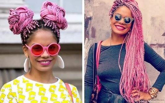 Trança Afro Coloridas
