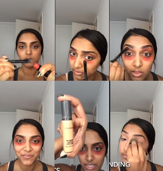 Truque Maquiagem Sandbagging - Olheiras Disfarçadas