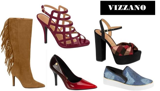 Vizzano Sapatos Femininos - Coleção