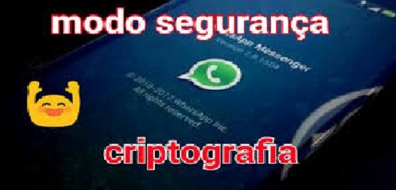 WhatsApp  Criptografia Atualização