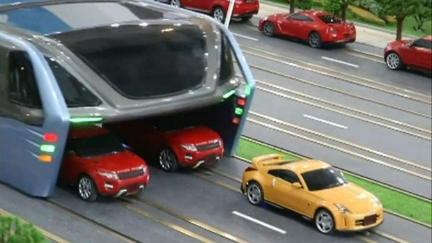 Ônibus do Futuro na China - Protótipo
