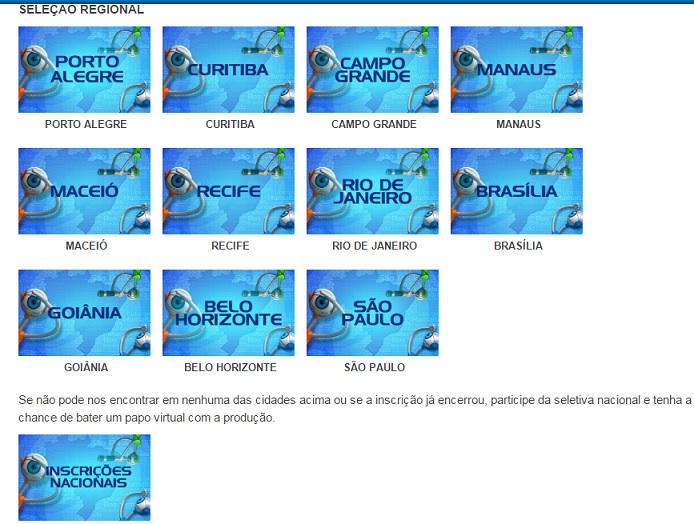 Big Brother Brasil 2017 - Como Fazer Inscrições reiao