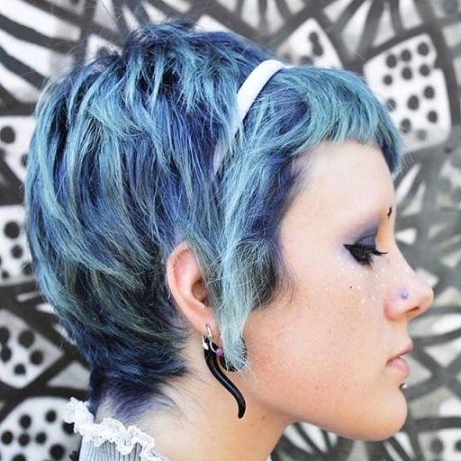 Cabelo Denim Hair..