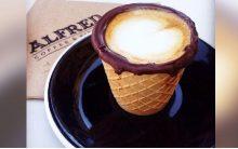 Café Servido Casquinha de Sorvete – Nova Moda
