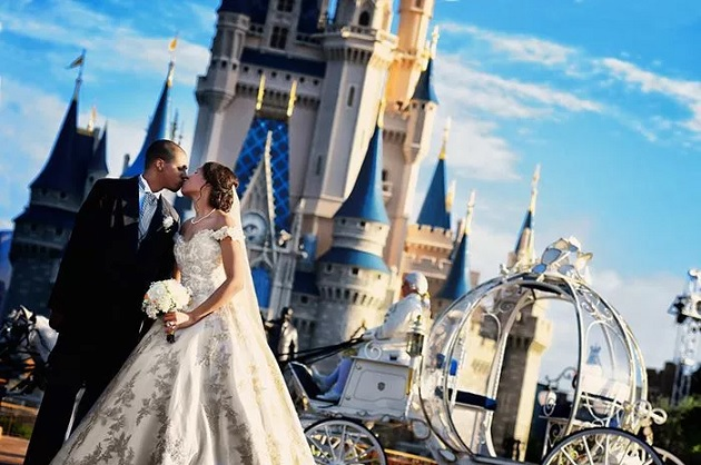 Casamento Castelo da Cinderela -  Novidade Disney