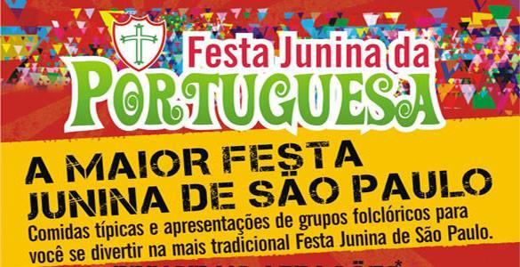 Festa Junina da Portuguesa 2016 SP - Programação e Ingressos