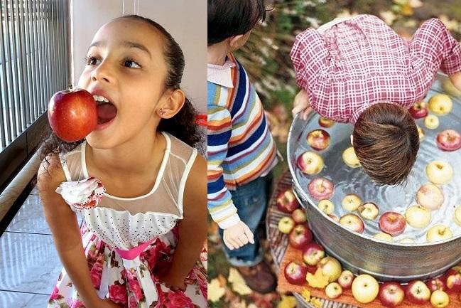 Festa Junina e Brincadeiras -maçã