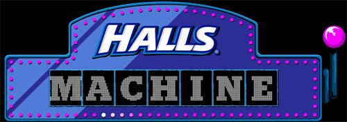 Halls Machine 2016 Promoção- Como Participar