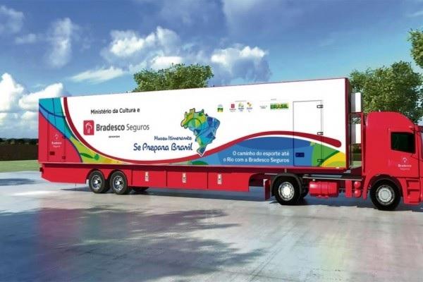 Museu Itinerante Olímpico– Projeto Se Prepara Brasil