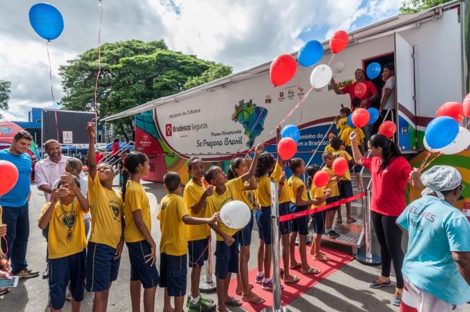 Museu Itinerante Olímpico Projeto Se Prepara Brasil-