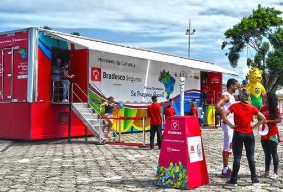 Museu Itinerante Olímpico Projeto Se Prepara Brasil.