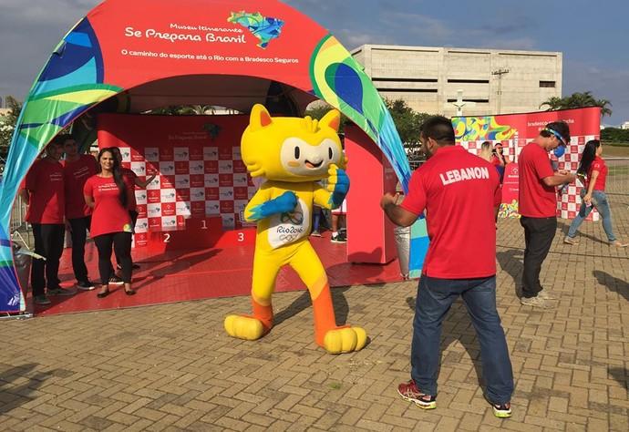 Museu Itinerante Olímpico Projeto Se Prepara