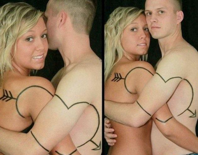 Tatuagem de Casal -